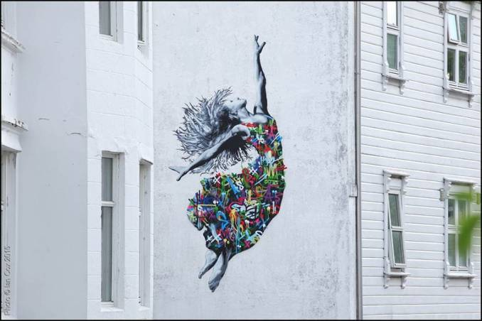 Martin Whatson // Nuart 2015 - photo © Ian Cox
