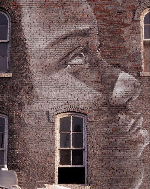 Rone, Murals in the Market // Detroit