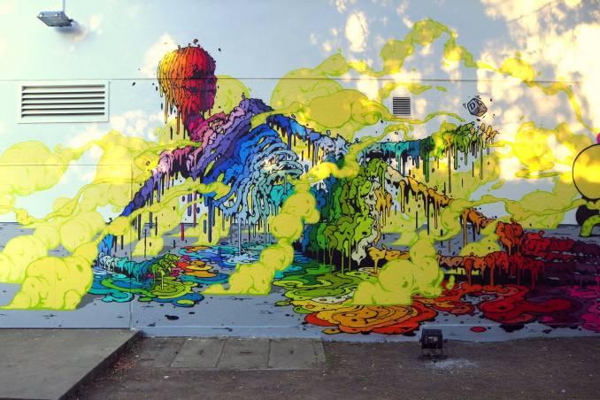 "BRUSK au ""Jardin Moderne"" Rennes // photo oct. 215 @vidos - street-art-avenue"