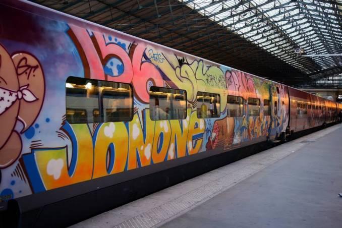 Thalys, Gare du Nord, Paris, 2009 © Jonone