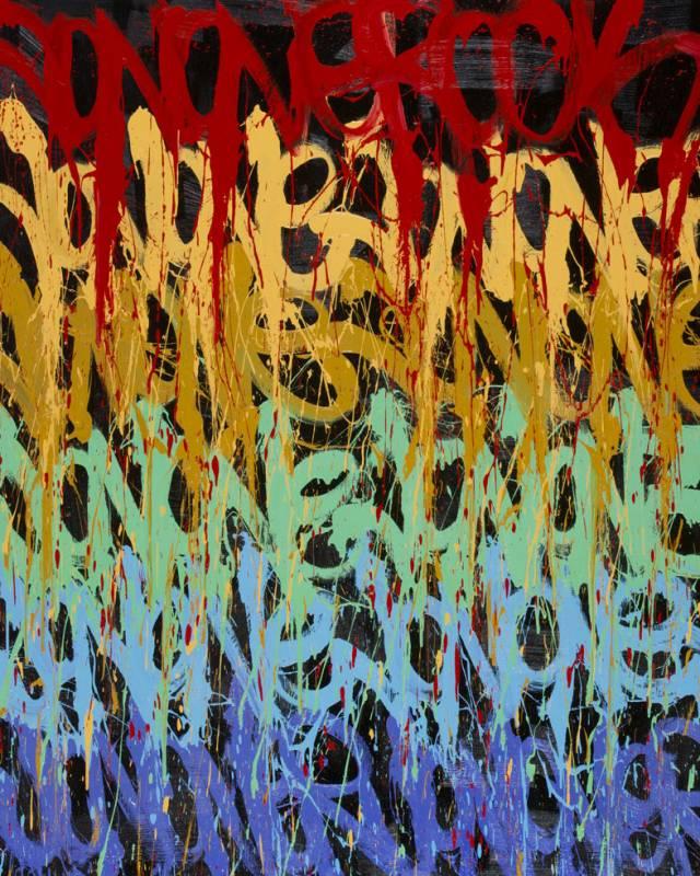 Wanderlust, 2014 © JonOne - 210 x 200 cm