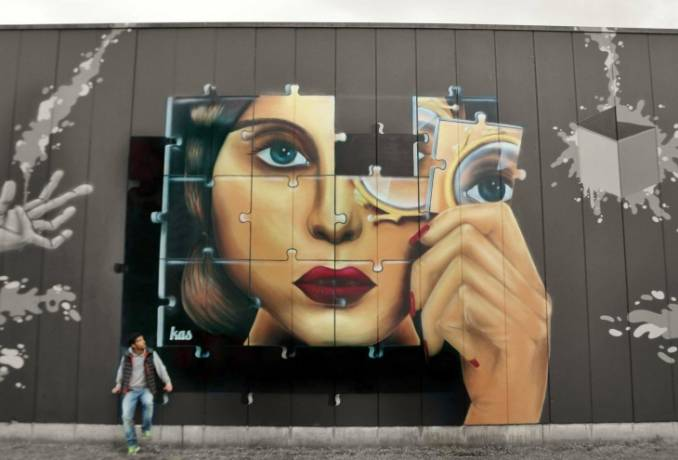 """piece of me"" - kas - Brussels – Belgium"