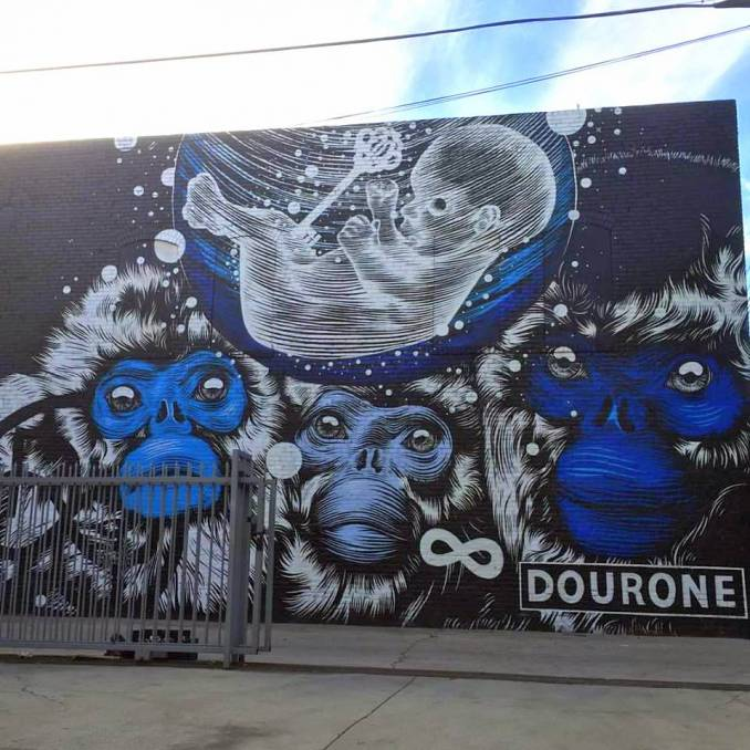 "Dourone, "" © The Gabba Gallery"