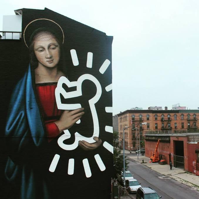"""Owen Dippie """"The Radiant Madonna"""" - Brooklyn NYC // photo 2015 © Erin Dippie"""