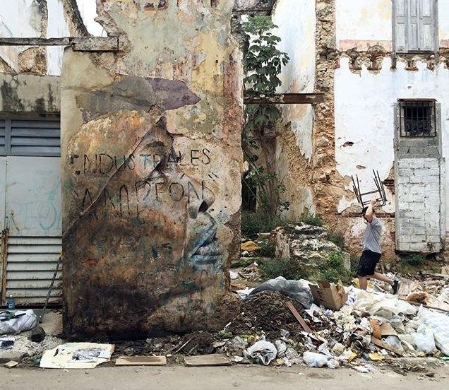 "RONE - ""Nedila"", Havana // 2015 photo © Alice"