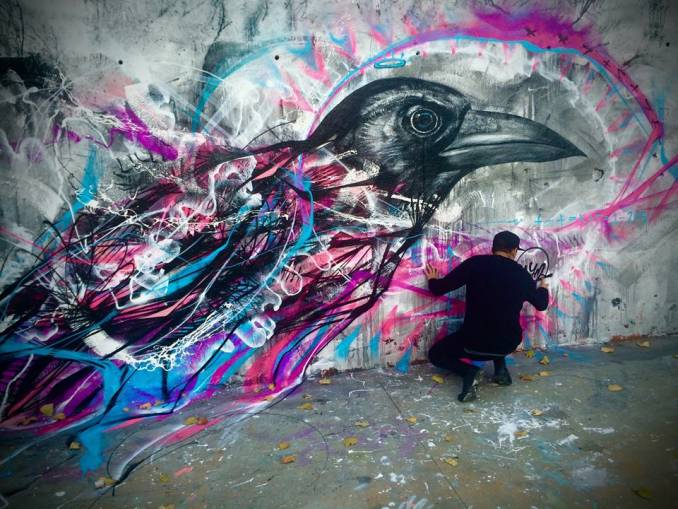 l7m - street art - barcelone
