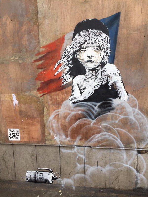 Shoreditch Art: Banksy /// Condamnation De L'État Français Depuis Londres