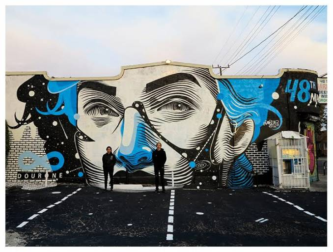 dourone - street art - south los angeles