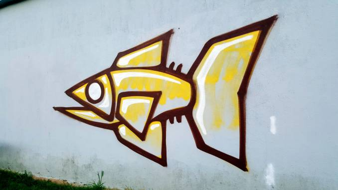 poisson - street art - graffiti - vannes