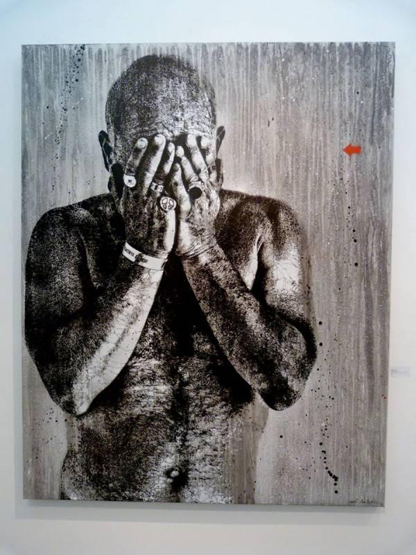 Arthy Mad - Jef Aérosol - Pochoir sur toile