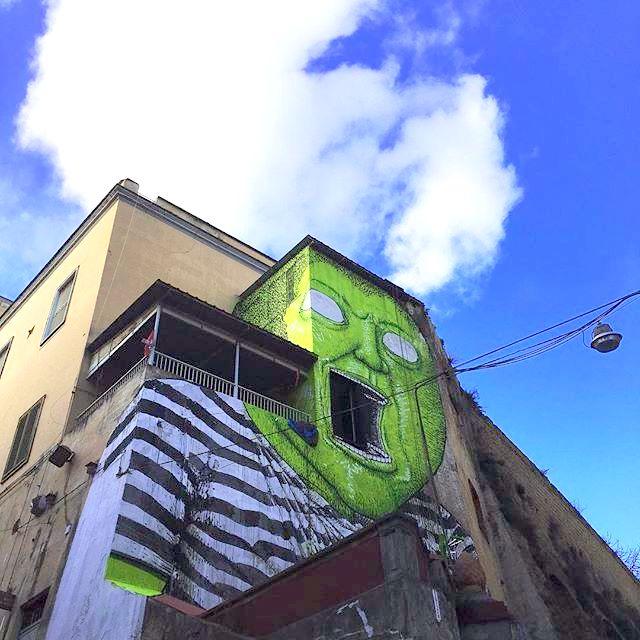 blu - street art - naples - OPG - abiomarra95