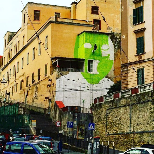 blu - street art - naples - OPG - carmenvici