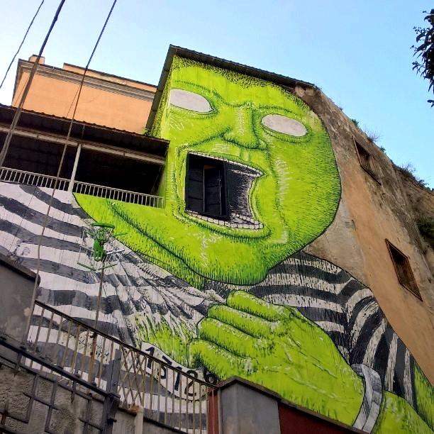 blu - street art - naples - OPG - mmariacaro