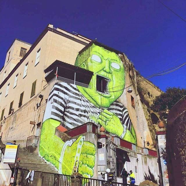 blu - street art - naples - OPG - peppegui