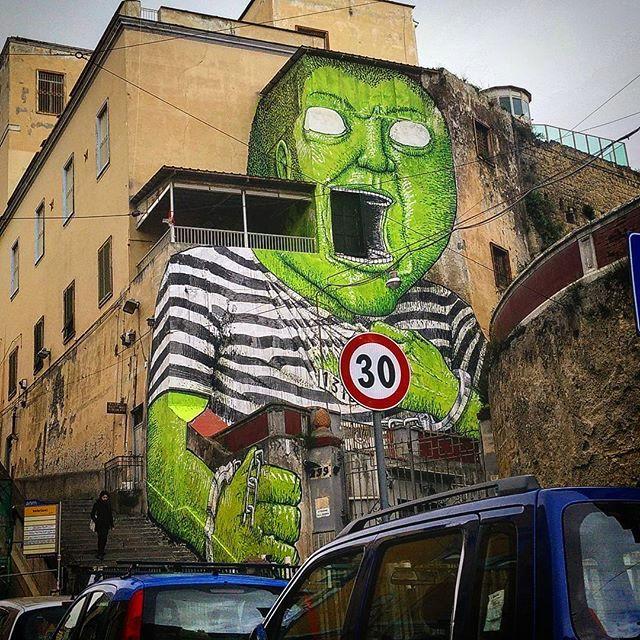 blu - street art - naples - OPG - rod909
