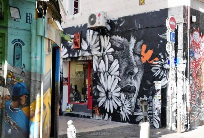 dire - dire132 - street art - cours julien - marseille