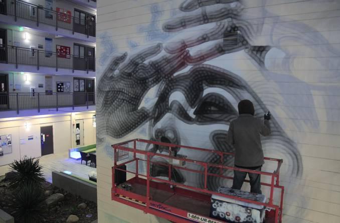 el mac - street art - university of california - san diego