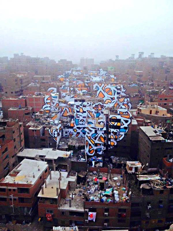 el seed - street art - le caire - zabbaleen
