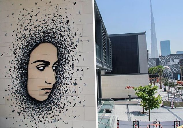 ICY and SOT, Dubaï Walls 2016