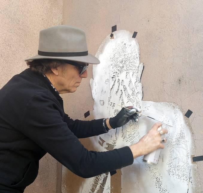 jef aérosol - street art - pochoir - nancy