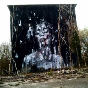 la rouille - street art - redon