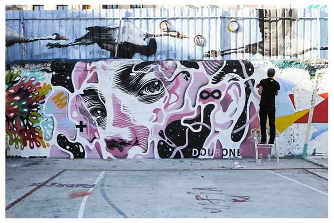 dourone - street art - campo de la cebada - madrid