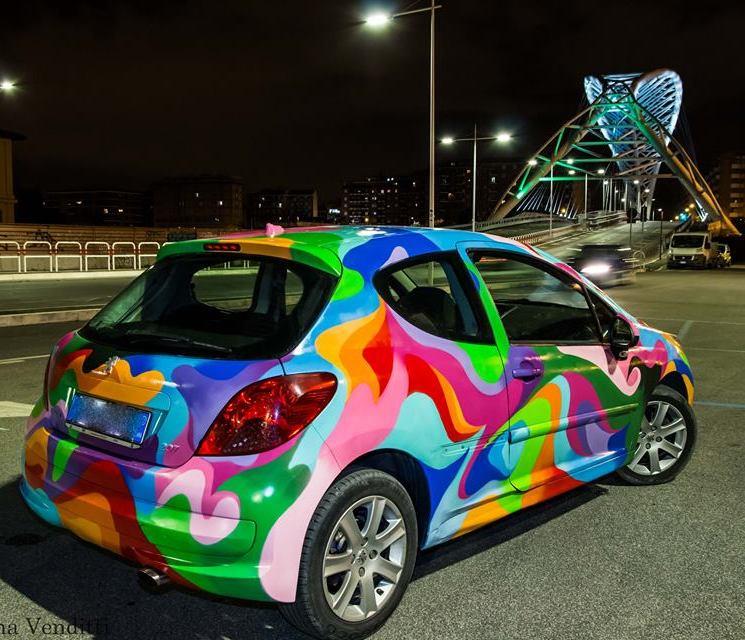 Gesta Future Graffiti Car