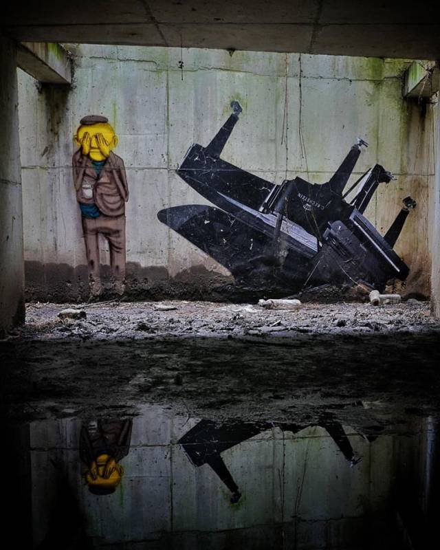 JR - Os Gemeos - street art - palais de tokyo - Paris