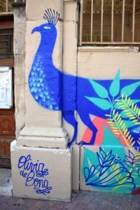 olivia de bona - street art - cours julien - marseille