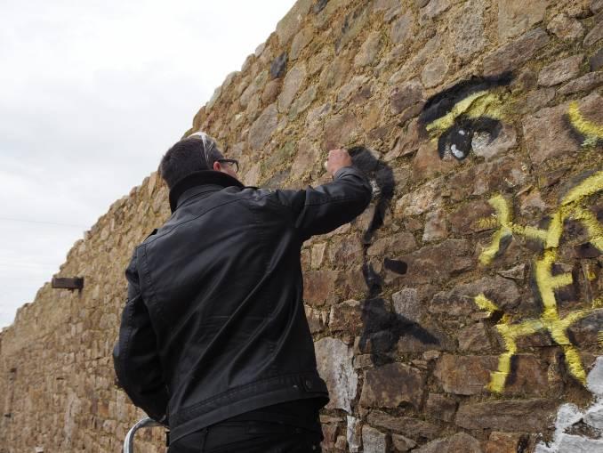 oox - street art - bretonne - vannes
