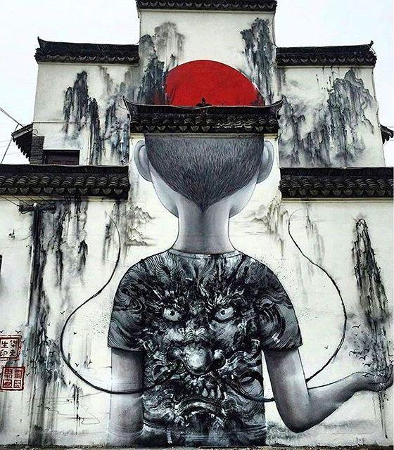 seth - hua tunan - street art - shanghai