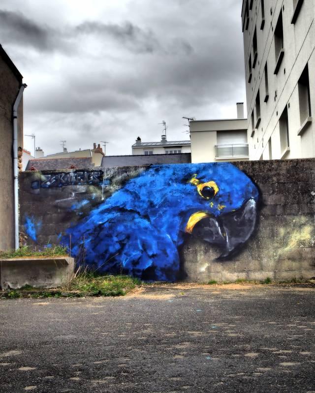Zermi Fugs - street art - Vannes
