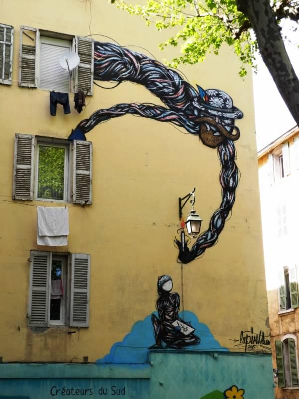 lapin thur, marseille, street art