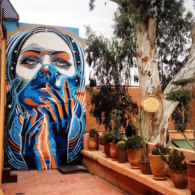 dourone - street art - marrakech