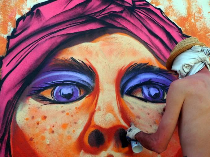 Aries - street art - vannes - bretagne