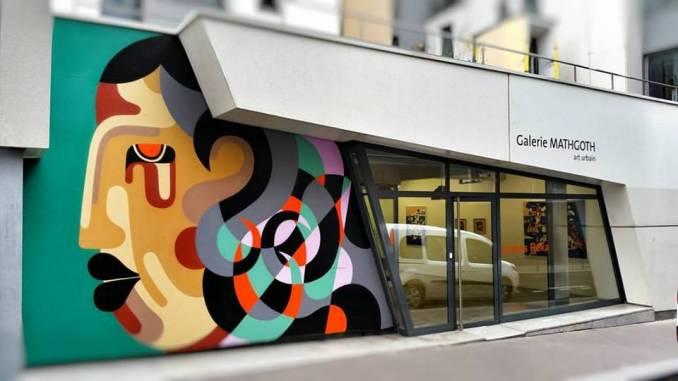 reka one - street art - mirage - galerie mathgoth - paris
