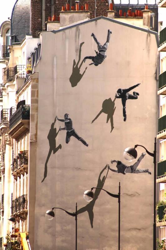 Str k hip hop sur les murs de paris 13 - Galerie street art paris ...