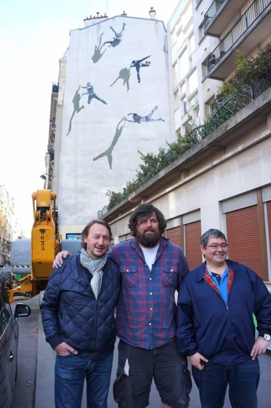anders gjennestad - gautier jourdain - jerome coumet - street art - paris 13