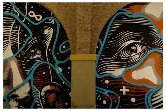 dourone - street art - one urban world - carthagène