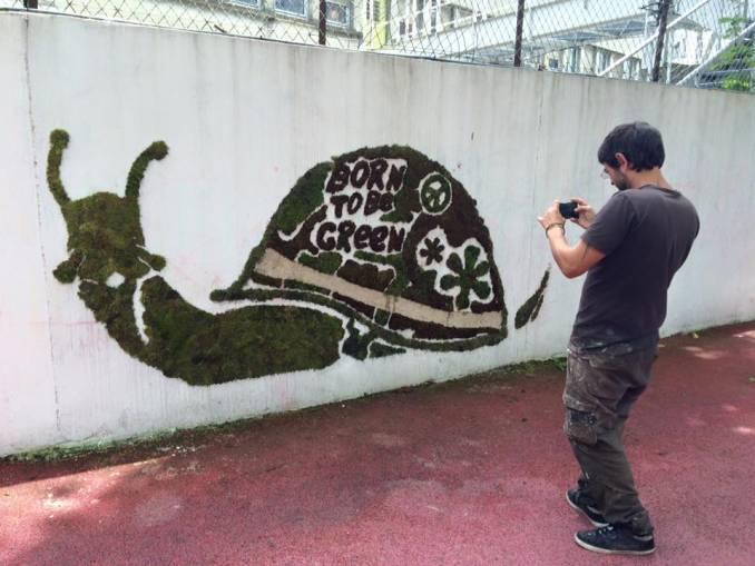 Green // Street Art Fest 2016 © Sophie Shuillier