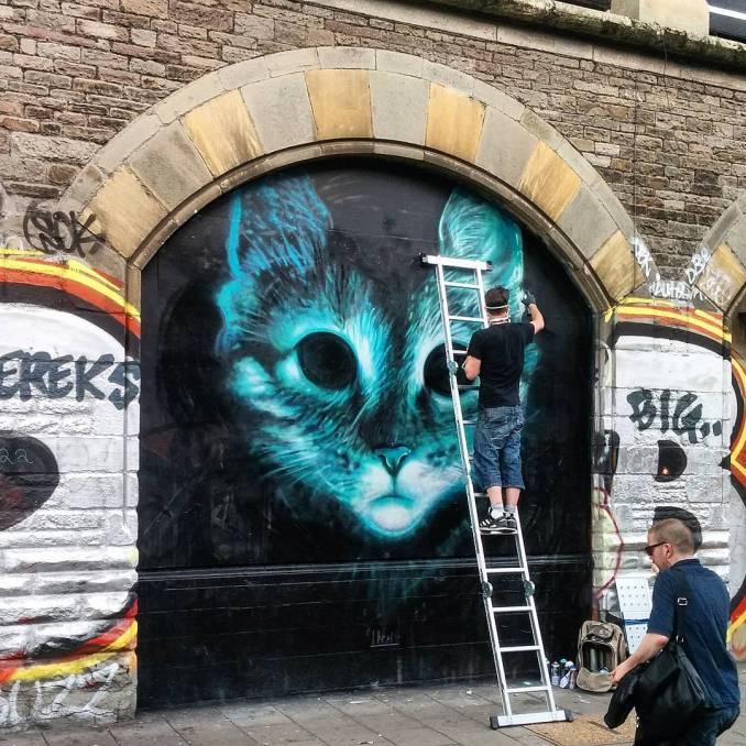 Stokes Croft, Bristol 2016 @david_bananne