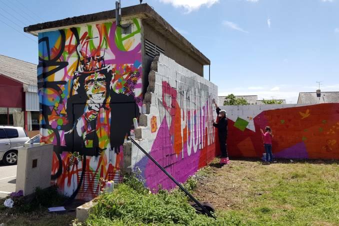 aphone - street art - signe - séné - vannes - bretagne