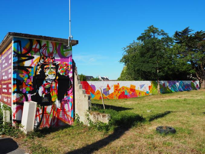 amorphe - street art - signe - séné - vannes - bretagne