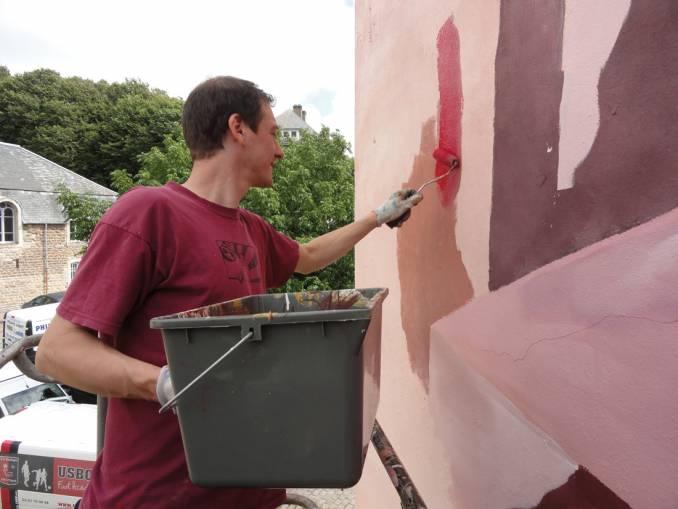 Johannes Mundinger - street art - Boulogne sur Mer