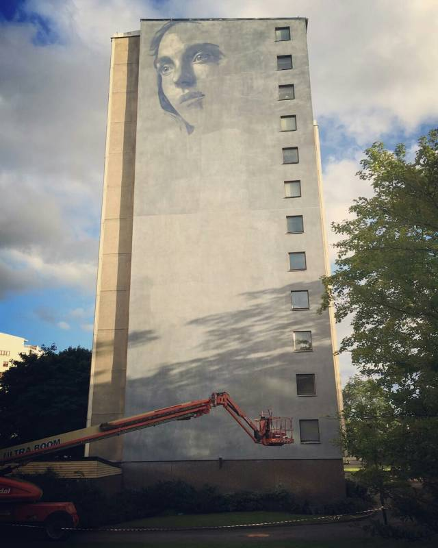 rone - street art - artscape festival - goteborg - suede