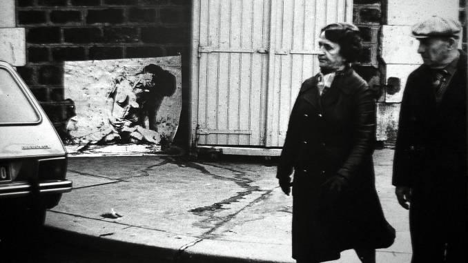 ernest pignon-ernest - street art - avortement - paris