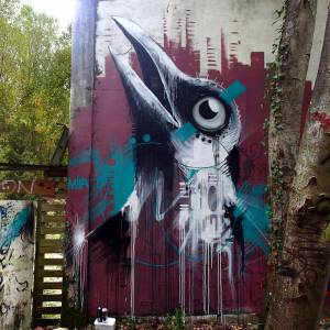 mika - street art - hitchcock - bordeaux