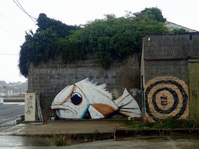 mika - street art - poisson - lorient