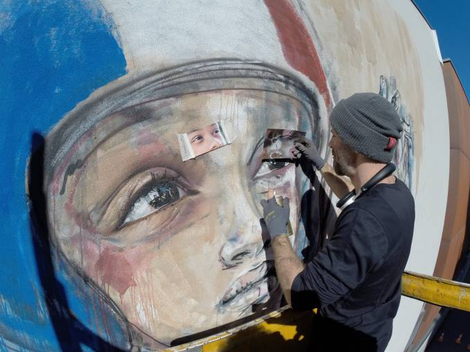 herakut - street art - paris 13 - galerie Matgoth