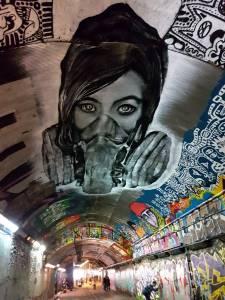 olivier roubieu - zabou - street art - leak street - waterloo - londres